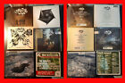 The Rasmus & Apocalyptica 6 CD lot Sail away Black Roses Hide from the sun Dead