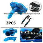 3X Cycling Bike Bicycle Chain Wheel Wash Cleaner Tool Cleaning Brushes Scrubber