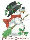 SNOWMEN COLLECTION MACHINE EMBROIDERY DESIGNS ON CD OR USB