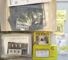 Ratio Woodland scenics railway kits of sheds and small parts job lot