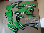 FLU DESIGNS PTS4 TEAM KAWASAKI GRAPHICS KX250F KXF250   2013  2014  2015  2016
