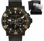 Ulysse Nardin Maxi Marine Diver Black Sea Rubber Chronograph 45.80mm 353-90