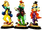 Clown figurines 3 Ks Collection just clowning around