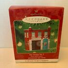Hallmark 2001 Town And Country Series #3 Fire Station No. 1 Ornament 1202