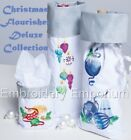 CHRISTMAS FLOURISHES DELUXE COLLECTION MACHINE EMBROIDERY DESIGNS ON CD OR USB