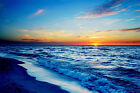 LAMINATED POSTER 61 x 915 cm 24x36 inch Sunrise on the beach 02
