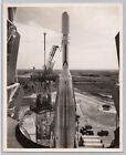 1950s Vintage ATLAS ABLE ROCKET SM 65 Missile OFFICIAL AIR FORCE NASA Photo
