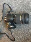 Pristine NIKON D5000 Camera Digital SLR with 18-270 Tamron Lens Very Low Count