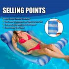 Water Float Hammock Beds Swim Pool Lounger Inflatable Rafts Float Chair Mat Pads