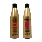 Salerm Protein Shampoo And Balsam Conditioner 250ml Duo Set  Hair Care Styling .