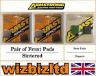 Complete Brake Pad Kit Moto Guzzi 350 V 35 II (Cast Wheels) 1980-85 BK112337