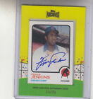 2013 TOPPS ARCHIVES FERGIE JENKINS MINI FRAMED 1973 STYLE 25 AUTOGRAPH AUTO
