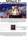 Apollo 11 - Gold Kapton Foil Flown to the Moon - Once Owned by Buzz Aldrin w COA
