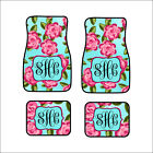 Personalized Custom Car Floor Mats Set Of 4 Front Rear Or Set Of 2 Front Mats