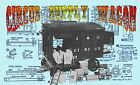1/16 SCALE MODEL CIRCUS SUPPLY WAGON INSTRUCTIONS & FULL SIZE PRINTED PLANS