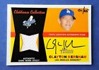 2009 Topps Heritage Clayton Kershaw Clubhouse Collection auto jersey # 1 25 RARE