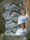 2017 Topps Clearly Authentic 3 box HOBBY lot - 3 factory sealed boxes