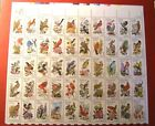 1953 2002 STATE BIRDS  FLOWERS ISSUE 50 20 CENT STAMPS W USPS ORIGINAL JACKET