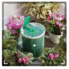 Automatic Plant Watering System w Coil Basket Outdoor Gardening Tools Plants