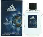 CHAMPIONS LEAGUE CHAMPIONS EDITION Adidas cologne men EDT 3.3 / 3.4  New in Box