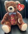 """TY BEANIE BABY 2003 PAPPA 2004 """"#1 DAD"""" Neck Tie FATHER'S DAY Gift RETIRED MWMT"""