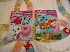 Hatchimals JUMBO Coloring Activity Book 2 Pack Tear Share Pages New Free Ship