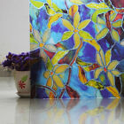 Static Cling Frosted Stained Flower Glass Window Film Sticker Privacy Room Decor