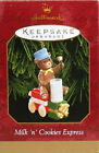 Milk 'n' Cookies Express - 1999 Hallmark Ornament - Christmas Teddy Bear Train