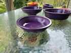 INDIVIDUAL PASTA BOWL mulberry purple FIESTA 8.25