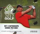 2012 SP Authentic Golf Hobby Box