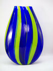 ALEX STISSER TEAR DROP ART GLASS VASE PACIFIC NORTHWEST MUSEUM of GLASS