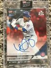 2018 Topps Now All Star Game Autographs RED #AS-2D Willson Contreras Auto 10