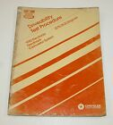 1982 Chrysler 3.7L / 5.2L Driveability Test Procedure Manual GOOD USED CONDITION