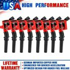 8 Ignition Coil Pack For Ford F150 Expedition 2000 2001 2002 2003 2004 46L 54L
