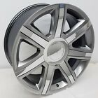 22 Platinum Chrome Cadillac Escalade Style Wheels 22x9 6X1397 GMC Hyperblack