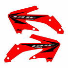Honda CRF450x 2005-2016 Stock Replica Shroud Graphics Red FREE SHIPPING!!!