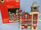 Lemax  Village Lighted Union Fire Co. 1993 Share the Joy Caldor 35078