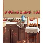 New COUNTRY APPLES Stars  Berries 40WALL DECALS Border Stickers Kitchen Decor