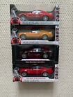 Diecast 1 18 Shelby Collectibles Lot 4 2008 Mustang Super Snakes