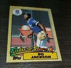 BO JACKSON 1987 TOPPS  #170 ROOKIE WELL CENTERED 2 SPORT LEGEND