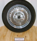 16 x 3 spoked chrome FRONT WHEEL with ROTOR H D Harley Davidson 1999 Heritage