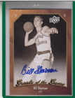 2009-10 UD GREATS OF THE GAME BILL SHARMAN