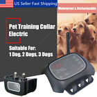 Wireless 1 2 3 Dog System Training Shock Collar Fence Containment Pet Trainer