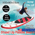 105ft PVC Inflatable Surf Board SUP Stand Up Paddle Board Backpack Pump Set