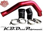 Dark Candy Red Hot Side 3 Intercooler Tube Ford Powerstroke 60l Diesel 03 07