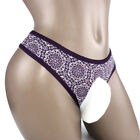 SEXY MEN BIKINI BRIEFS SISSY POUCH PANTIES UNDERWEAR CROSSDRESS L XL XXL