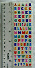 Mrs Grossman ALPHABET MULTI COLORS Strip of 1 4 Alphabet Stickers RETIRED