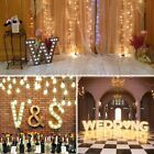 9 Metal LED Marquee Letter Lights Vintage Circus Style Alphabet Symbol