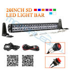 Cree Led Light Bar 12 20 40 Inch Spot Flood Beam Driving Lamp Rgbw Bluetooth