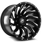 Xf Offroad Xf-224 26x14 6x1356x5.5 -76mm Blackmilled Wheel Rim